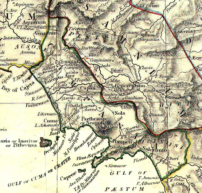 W. R. SHEPHERD, Latium et Campania